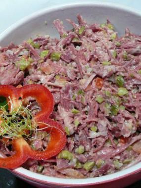Salade de boeuf en persillade