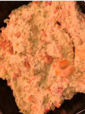 Salade mer du nord aux crevettes grises