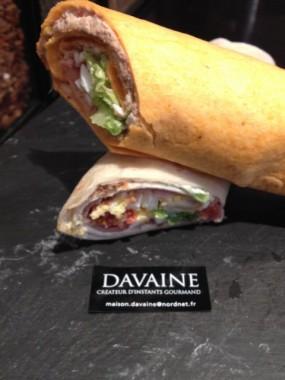 Le sandwich wrap