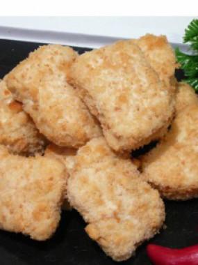 Pépites de poulet panées