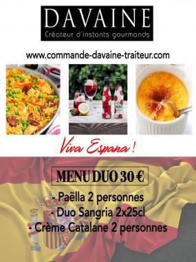 menu duo paella